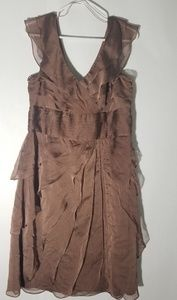 Adrianna Papell Brown Dress size 14
